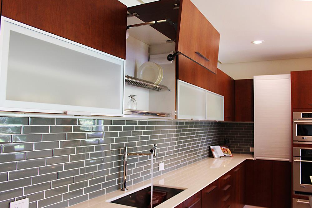 Muebles para cocina y cocinas de lujo - Muebles de vidrio ...
