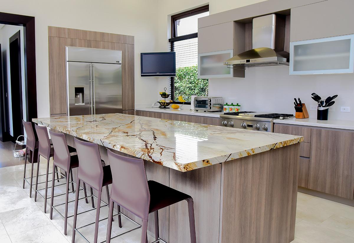 Muebles para cocina y cocinas de lujo for Islas para cocinas